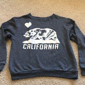 Tops - California gray sweater